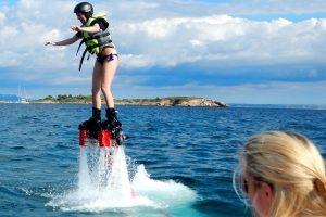 Flyboard für den Junggesellenabschied Mallorca